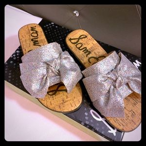 Girls Sam Edelman Gigi Bow sandals
